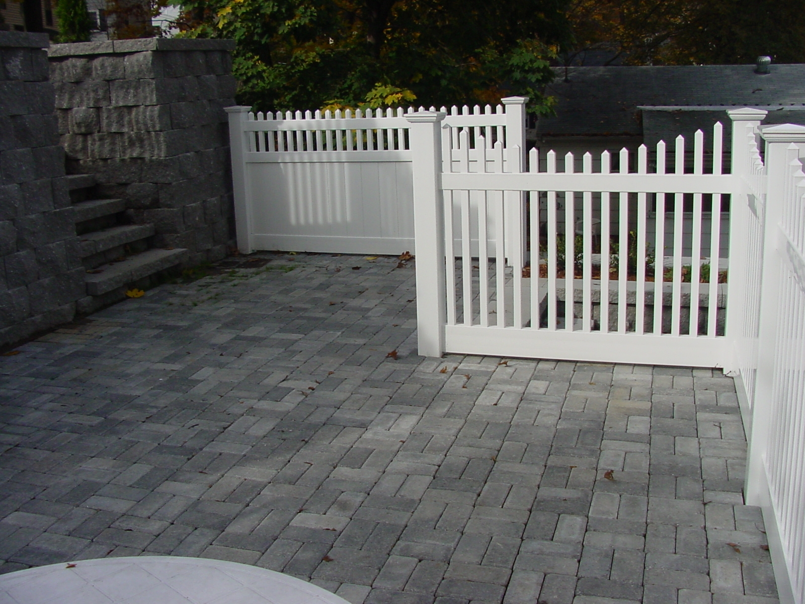 Patio Fencing Ideas Pictures As