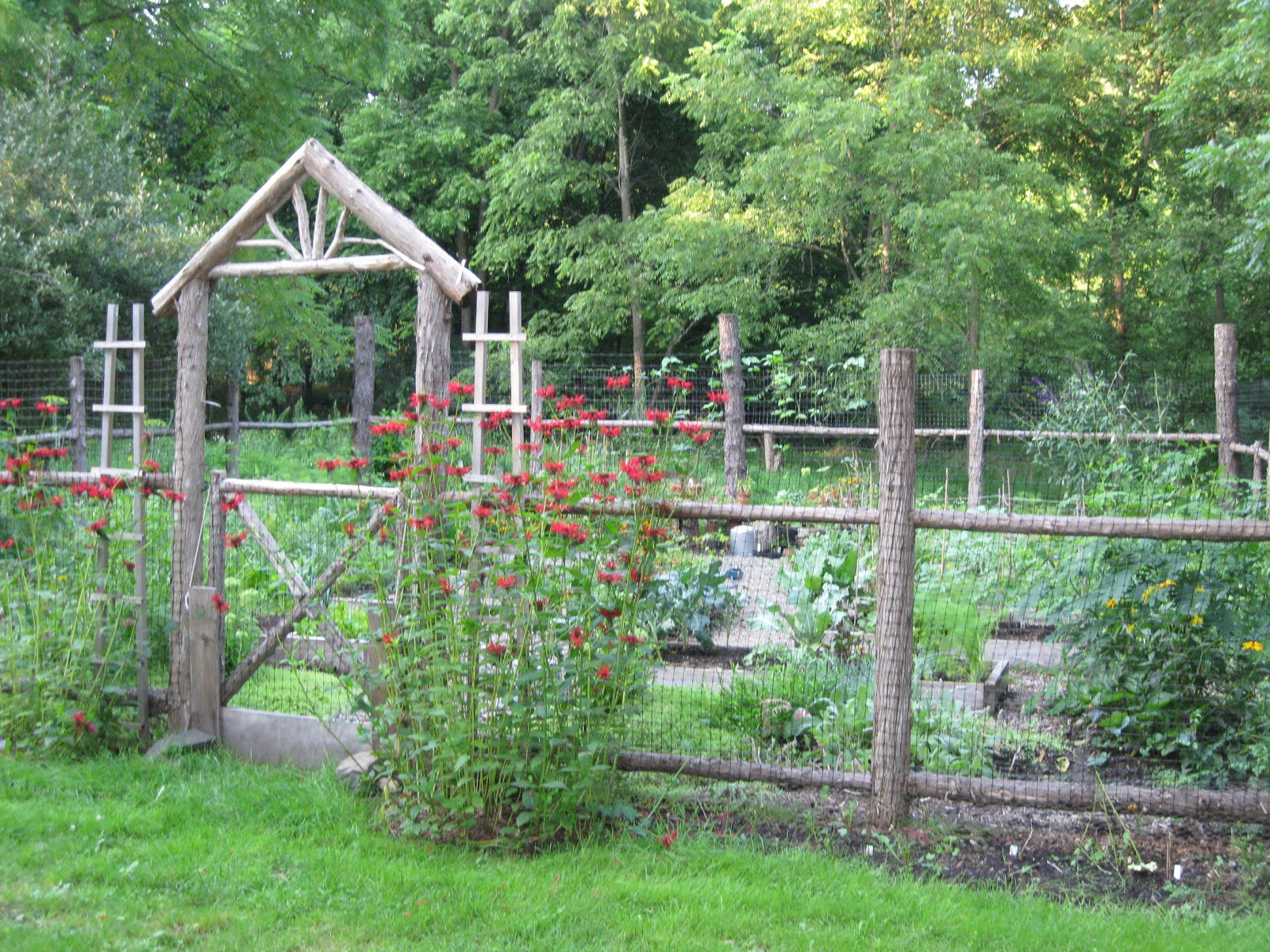 Rustic Garden Ideas As Garden
