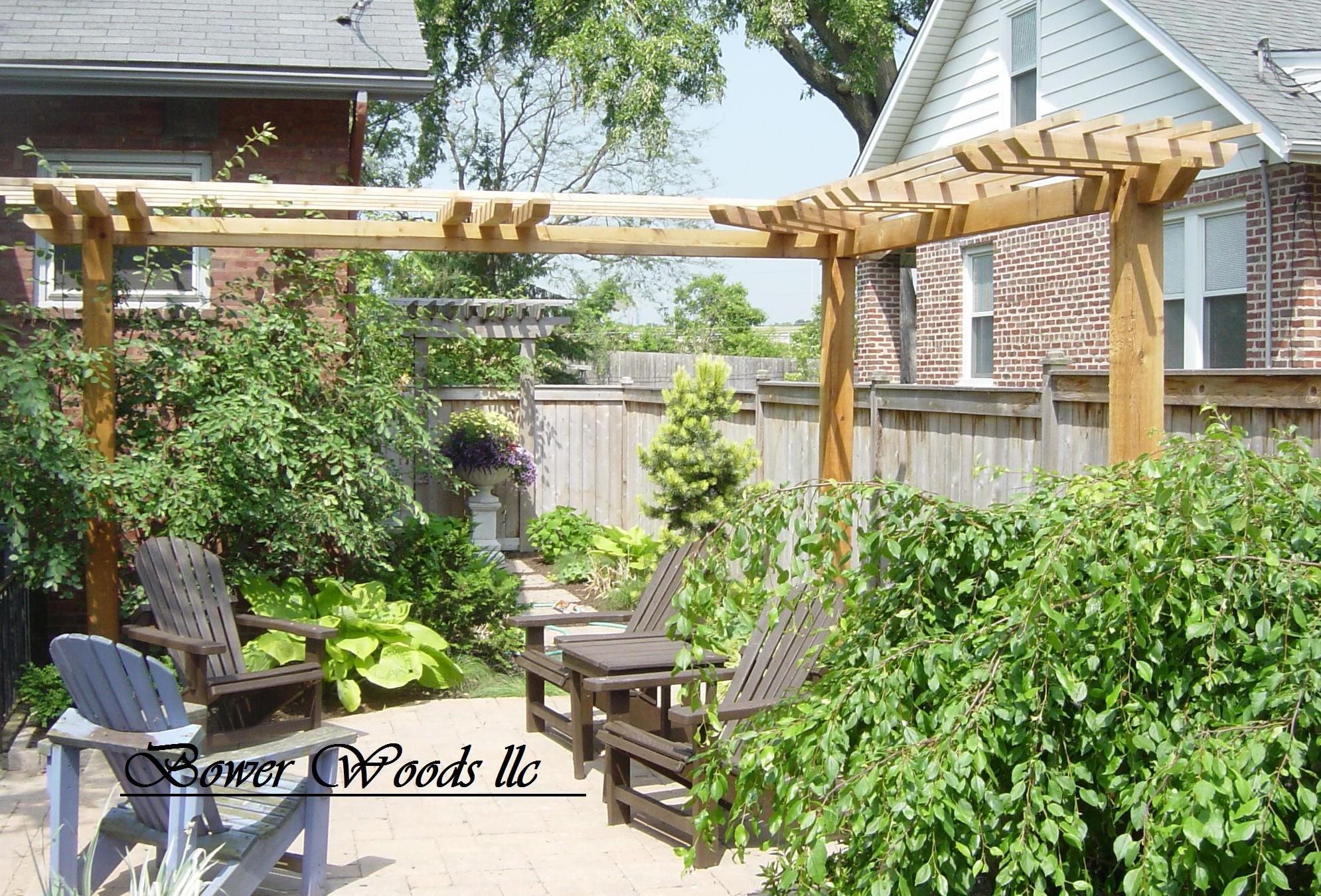 Rustic Garden Ideas As Patio