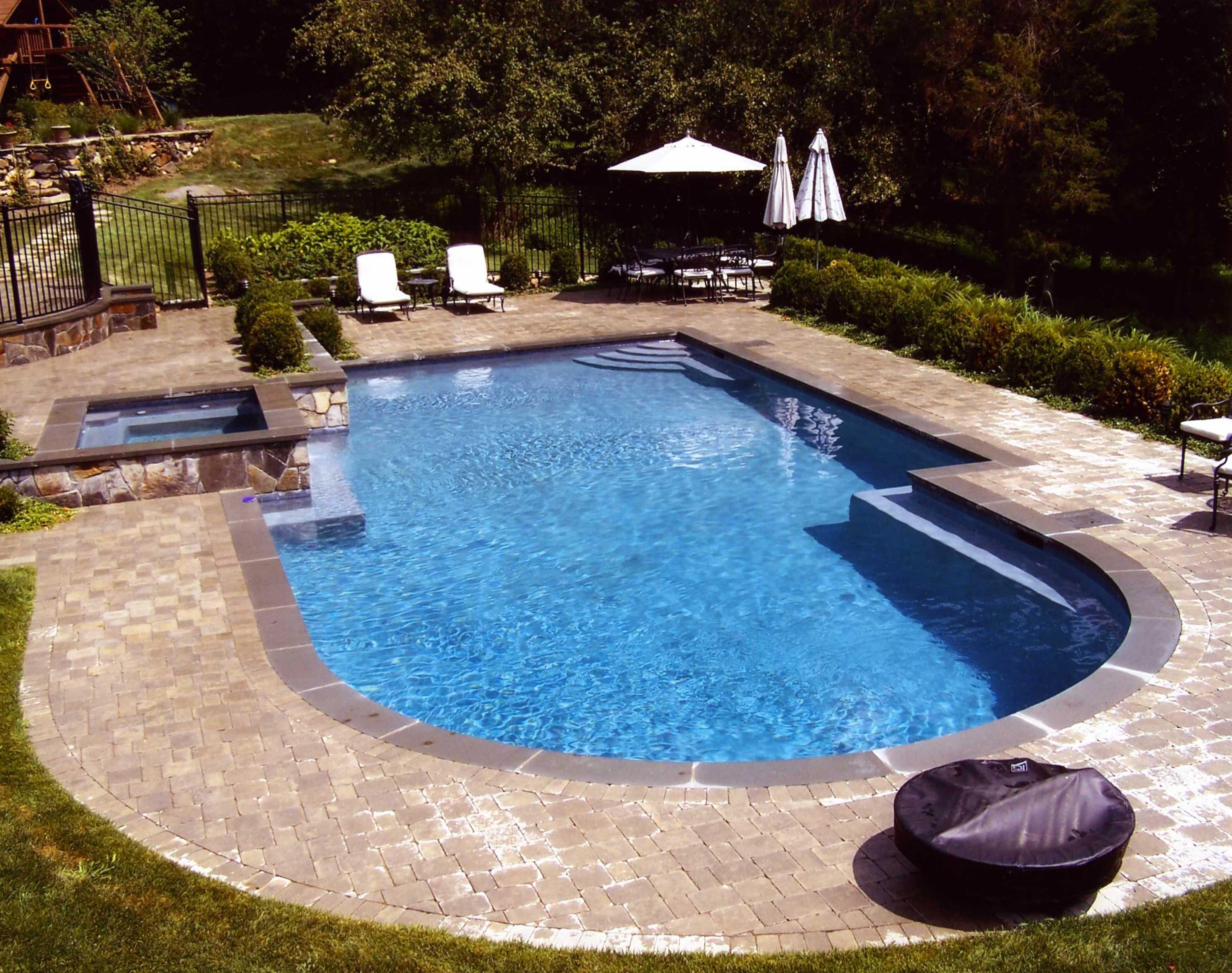 Fiberglass Swimming Pool As Vinyl