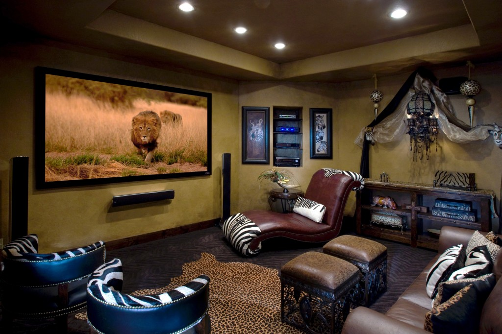 Furniture Home Theater Decorating Interior Your Home Ideas: Home theater design as decorating home theater for inspire the design of your home with drop dead display accessories decor